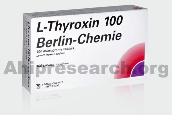 Levothyroxine weight gain side effect
